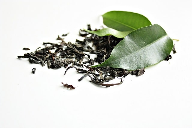 Zdrowe pobudzenie z zielonej herbaty